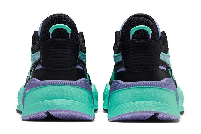 Puma Mtv Rs X Tracks Green Heels