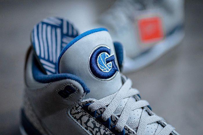 Air Jordan 3 Georgetown Hoyas Pe 3 Sneaker Freaker