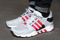 Adidas Eqt Running Support 93 Toro Red Ice Grey Thumb