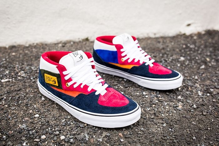 Vans Year Of The Monkey Half Cab Multi Suede Leather 3