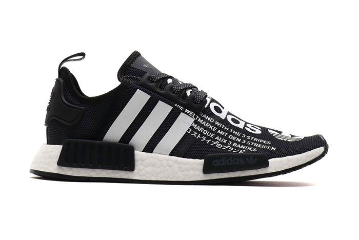 Atmos Adidas Nmd R1 Black White 2