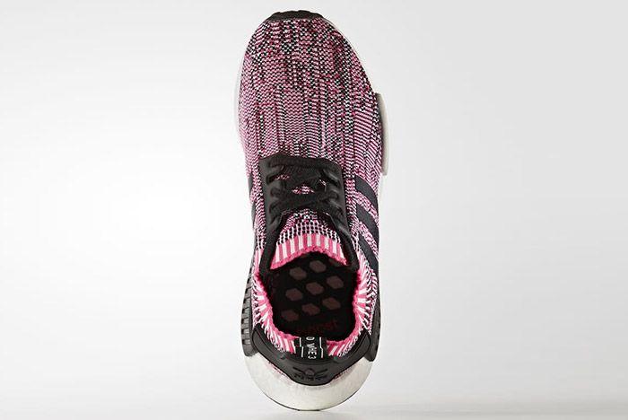 Adidas Nmd Ra Primeknit Pink Rose Black White 4