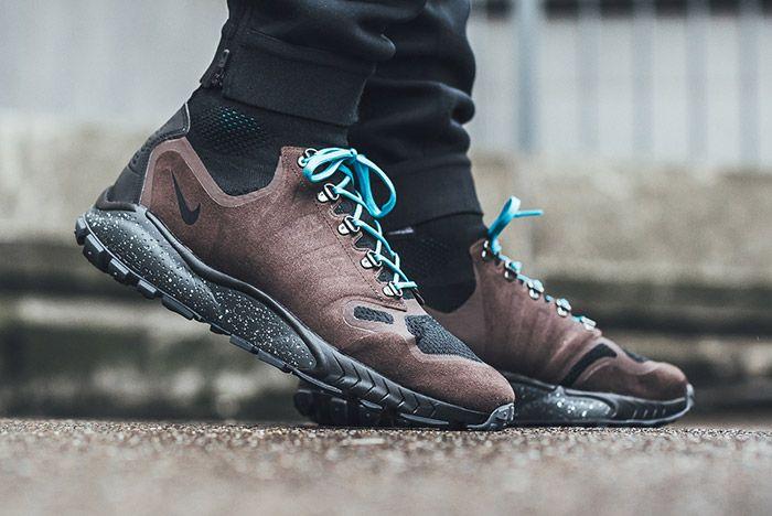 Nike Zoom Talaria Flyknit Mid On Foot 2