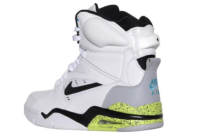 Nike Air Command Force White Grey Volt Black 3