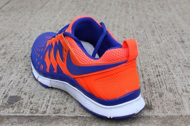 Nike Free Trainer 5 0 Crimson Hyperblue Heel Profile 1