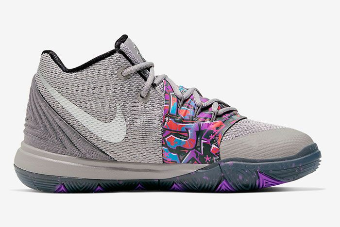 Nike Kyrie 5 Graffiti Right