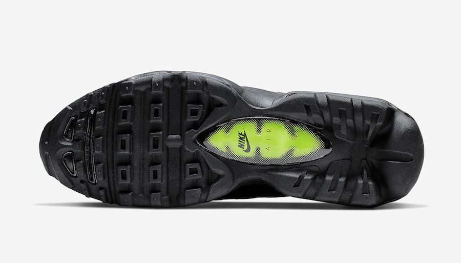 Nike Air Max 95 Ultra Black Grey Volt Sole