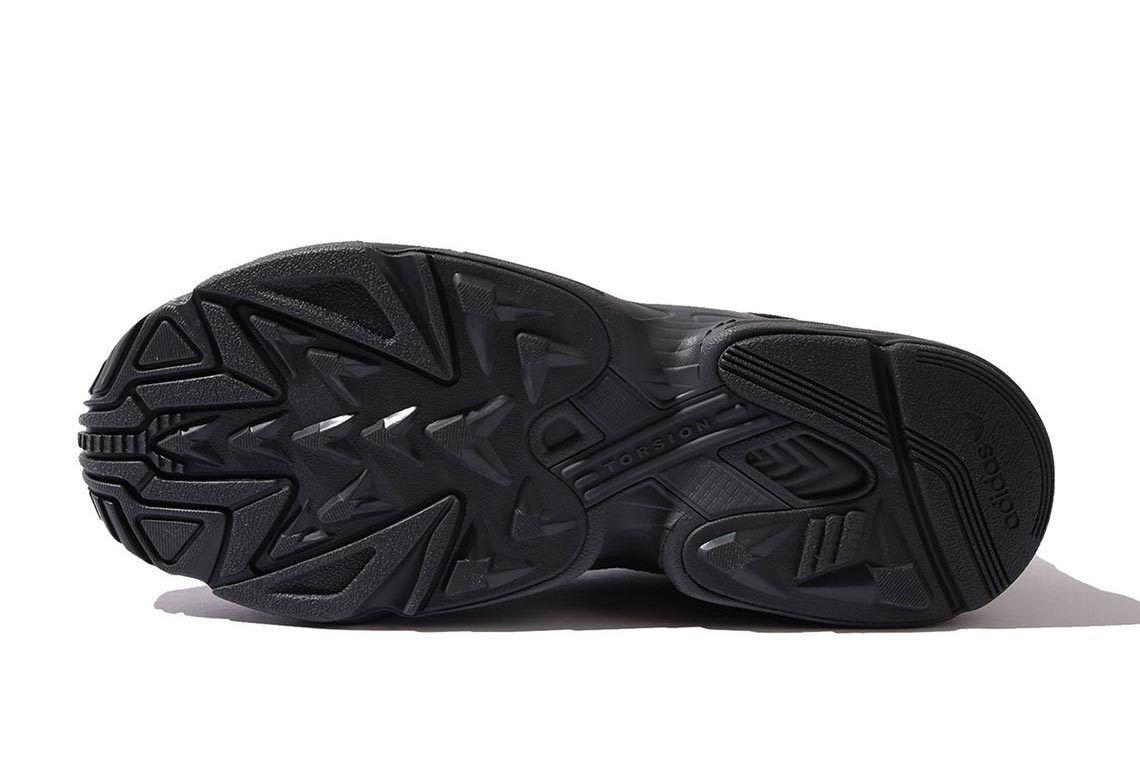 Beams Adidas Yung 1 Black Sole Shot 2