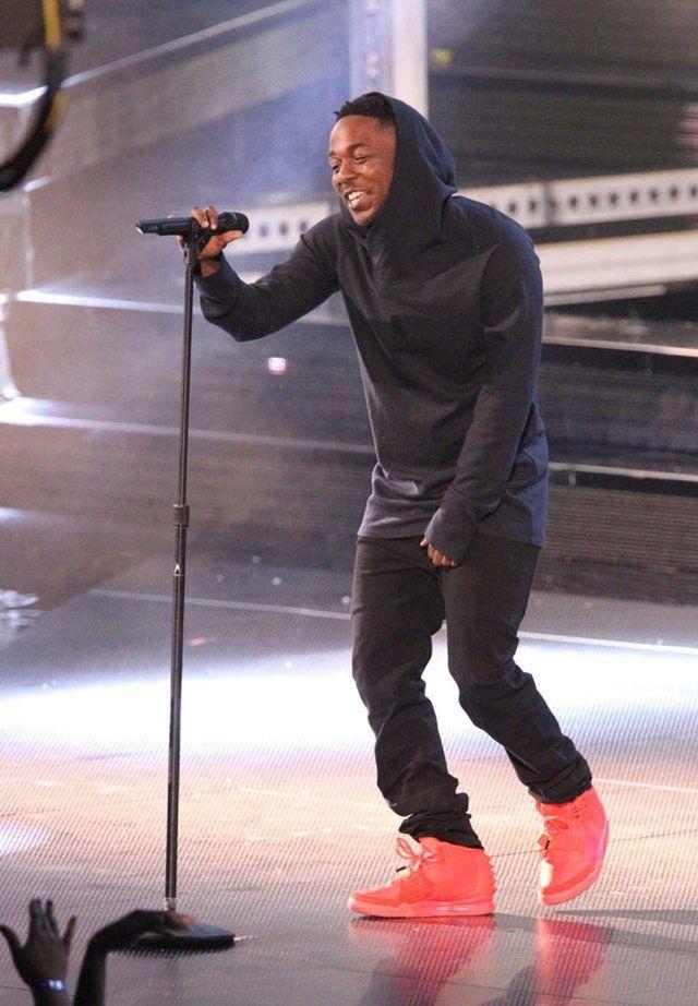 Kendrick Lamar Nike Air Yeezy 2 Red October 06
