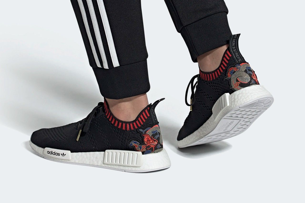 adidas NMD R1 Dragon Boat On Foot