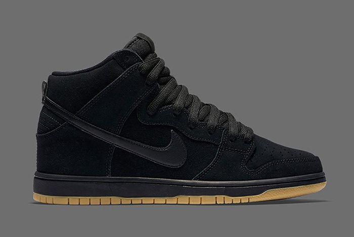 Nike Dunk High Blackgum 8