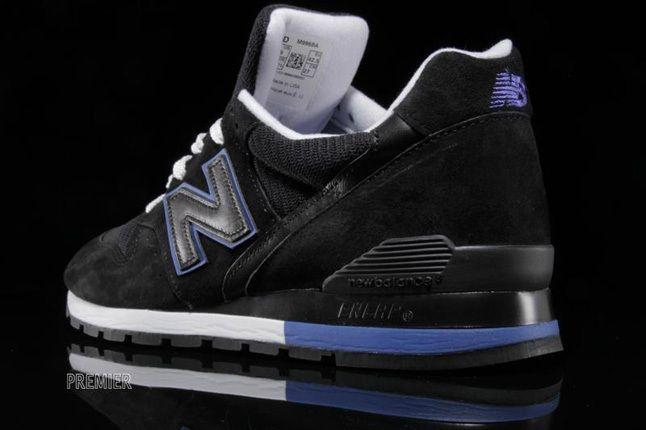 New Balance 996 Black Blue 2