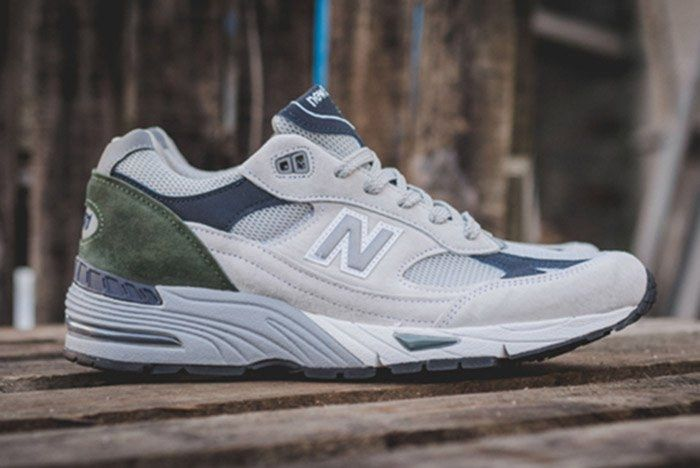 New Balance 991 Wgn Made In England Grey Thumb