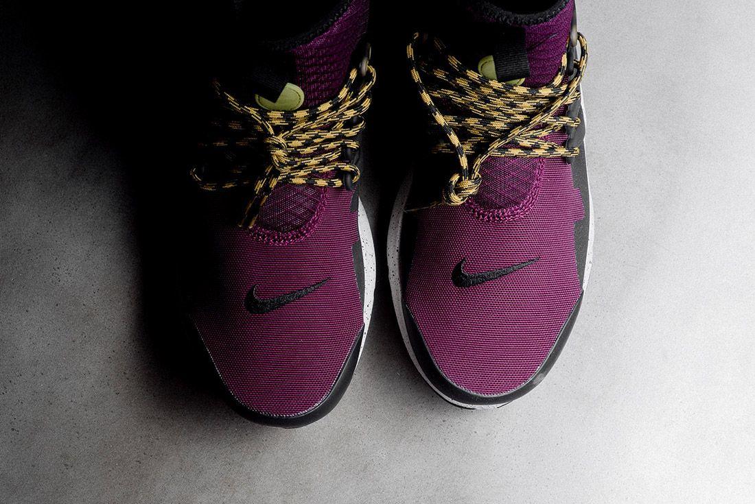 Nike Air Presto Mid Utility Bordeaux 5