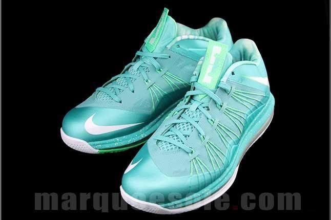 Nike Lbj X Teal Front Top 1