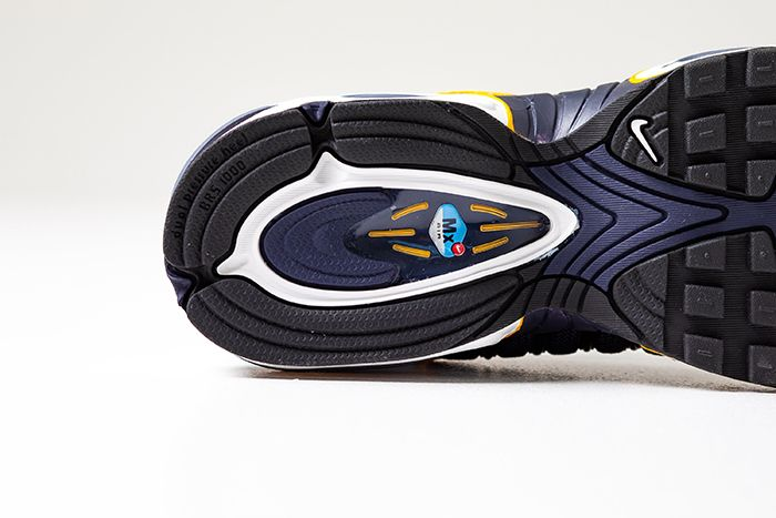 Nike Air Max Tailwind 4 Navy Gold Aq2567 200 Release Date Outsole