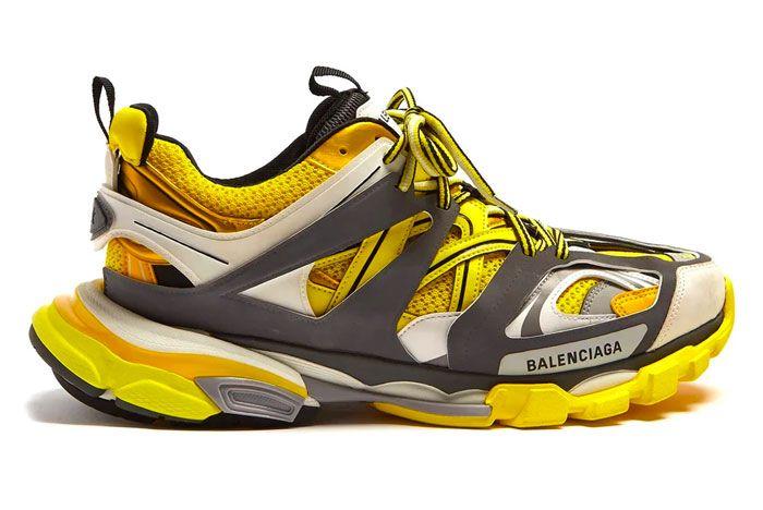Balenciaga Track Black Yellow White Release