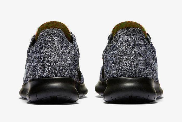 Nike Free Rn Flyknit Blackblue Glow2