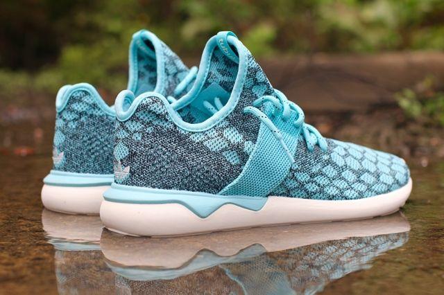 Adidas Tubular Runner Primeknit Blue Spice 3