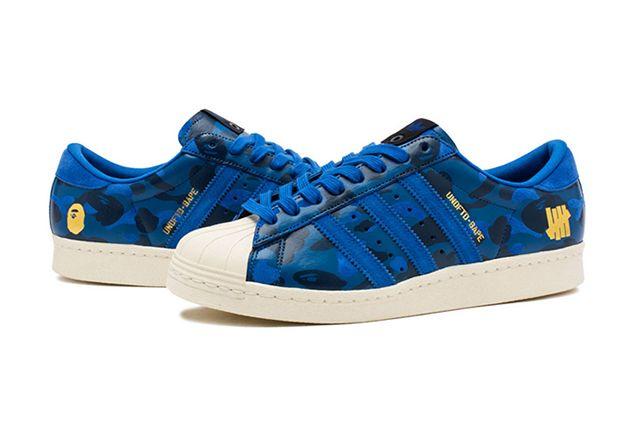Bape Undefeated Adidas Superstar 2