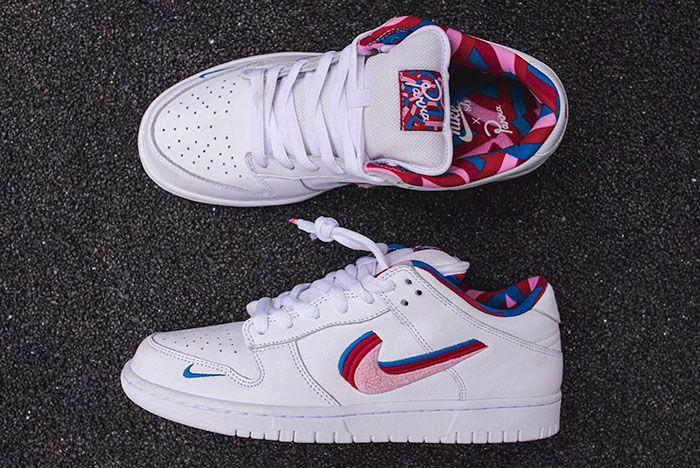 Parra Nike Sb Dunk Low Release Date 2 Pair