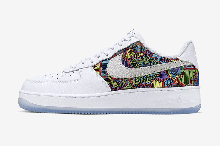 Nike Air Force 1 Low Puerto Rico Cj1620 100 Release Date Lateral