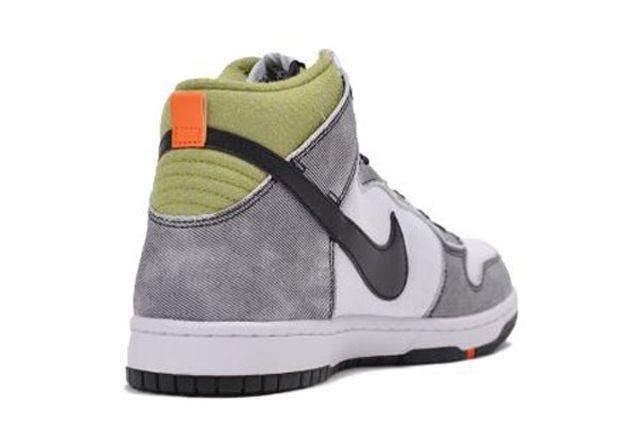 Nike Dunk Cmft Wolf Grey Green Orange 2