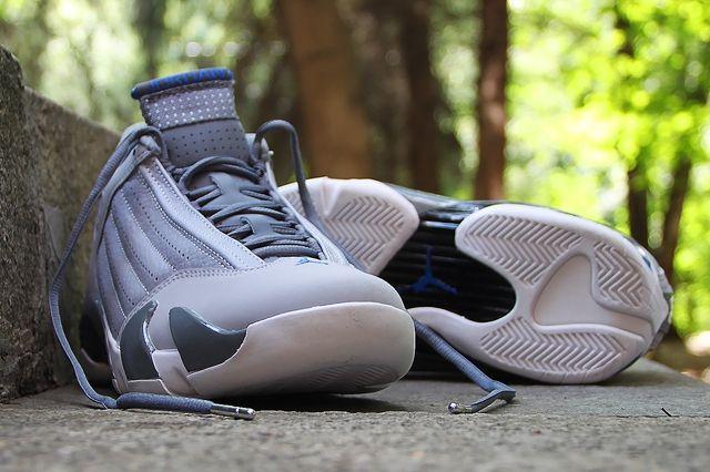 Air Jordan 14 Sport Blue 4