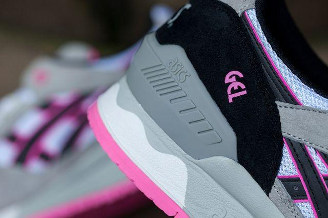 Asics Gel Respector White Grey Pink 5