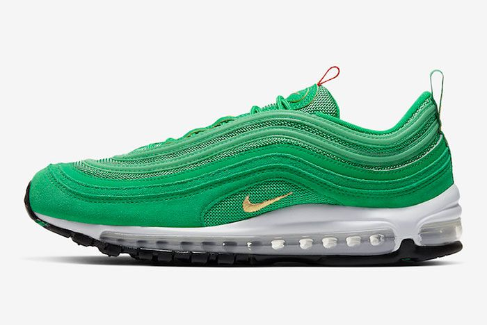 Nike Air Max 97 Lucky Green Ci3708 300 Lateral