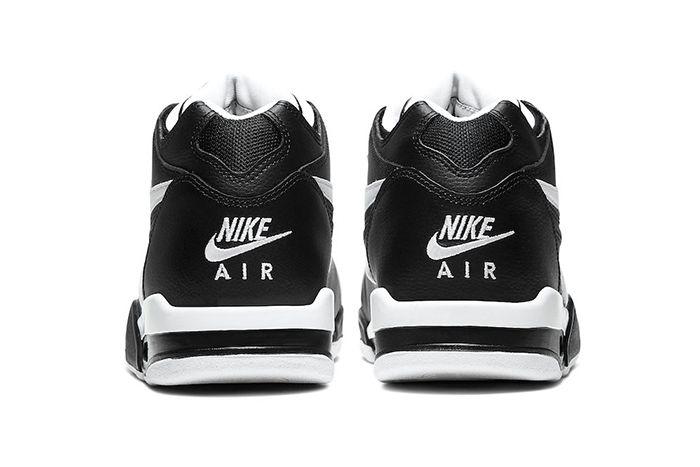 Nike Air Flight 89 Black White Cu4833 015 Release Date Heel