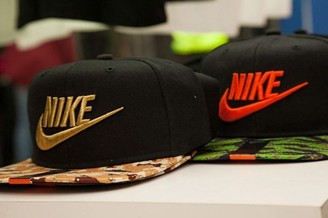 Atmos Nike Am1 Animal Camo Launch Recap Store Hats 1