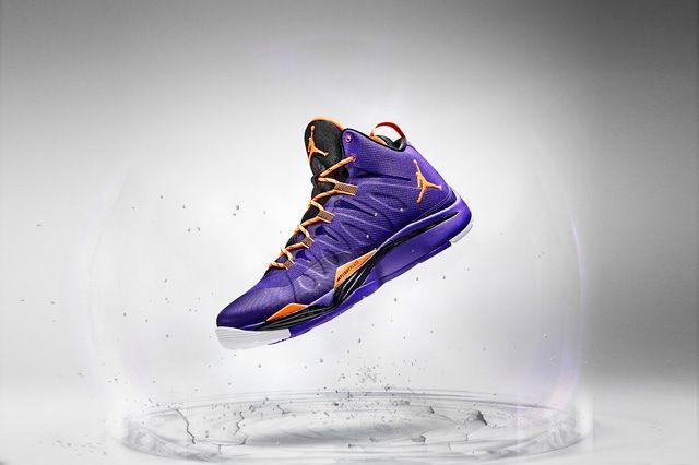 Jordan Super Fly 2 Purple Orange