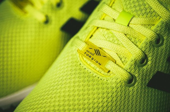 Adidas Zx Flux Electric Yellow 3