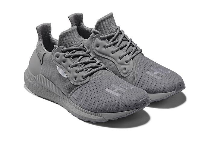 Pharrell Adidas Solarhu Greyscale Pack Grey Ef2380 Release Date Pair