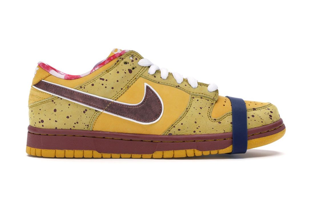 Concepts Nike Sb Dunk Low Yellow Lobster 313170 137566 Lateral