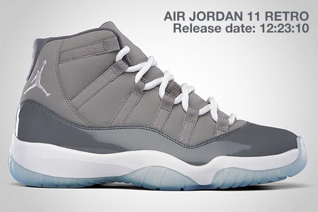 Air Jordan Retro 11 Cool Grey 1