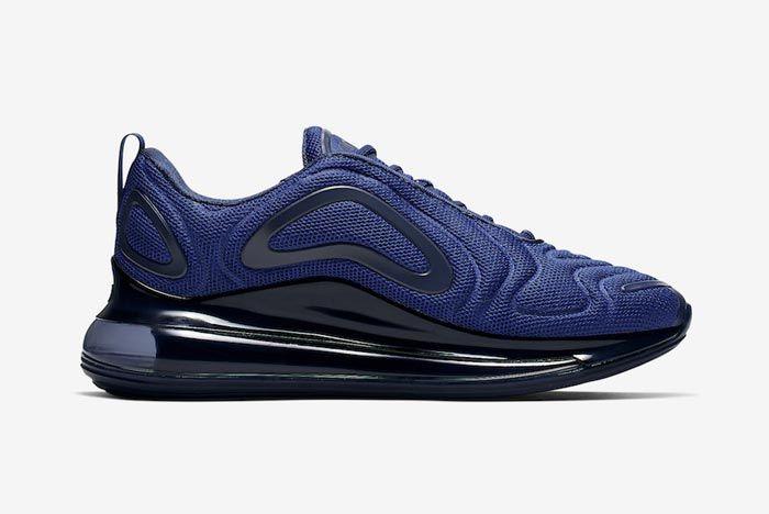 Nike Air Max 720 Midnight Navy Medial