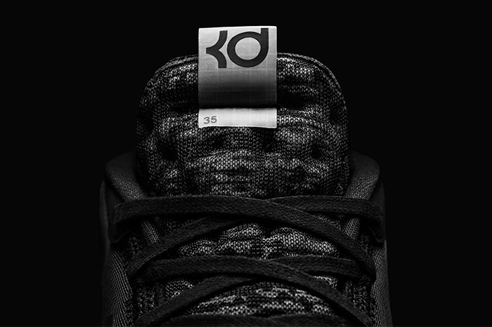 Nike Kd12 The Day One Black White Release Date Hero Tongue