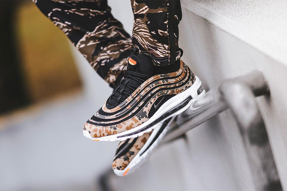 Country Camo Nike Air Max 97 Premium Qs Bamboo Black Dk Khaki Sequioa Aj2614 204 Sneaker Freaker 2