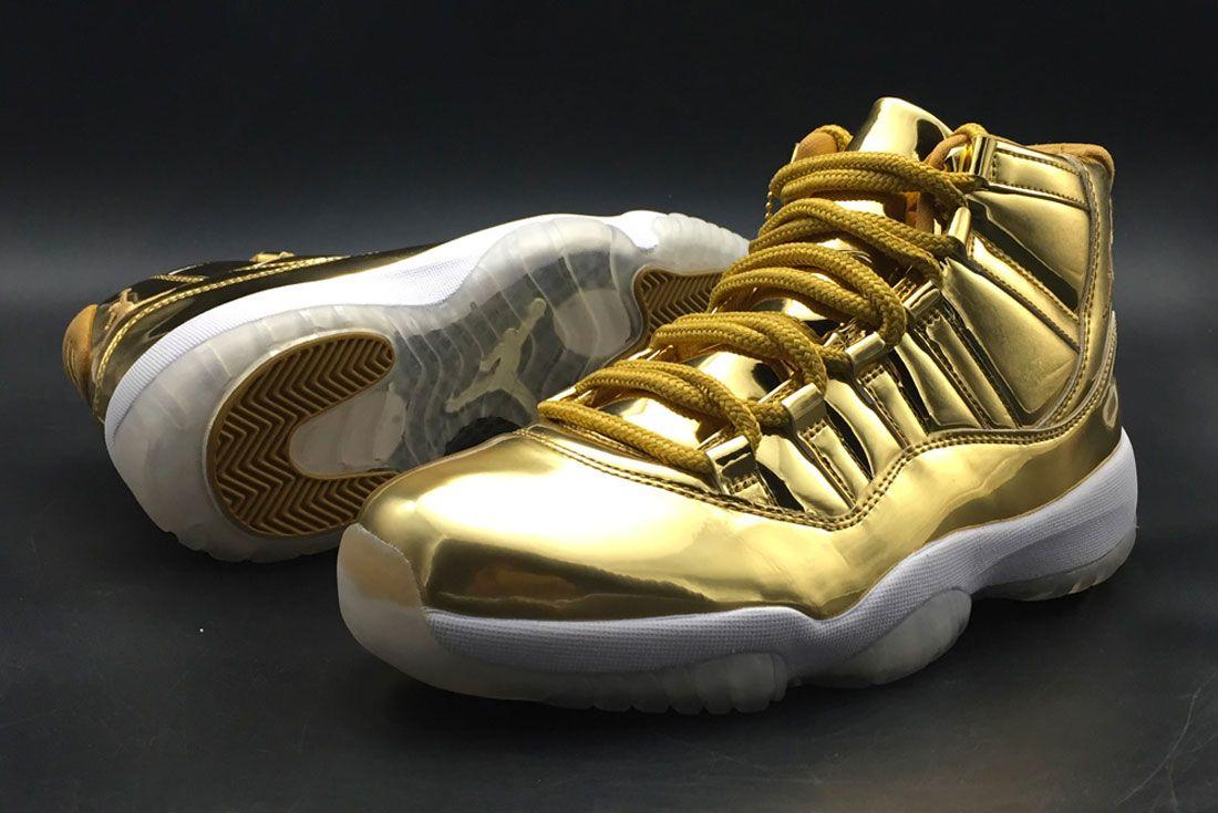 Air Jordan 11 Gold Pe
