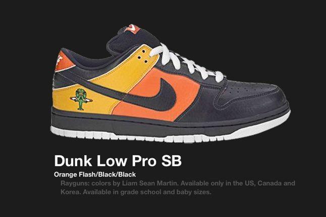 Nike Dunk Low Rayguns Black 2005 1