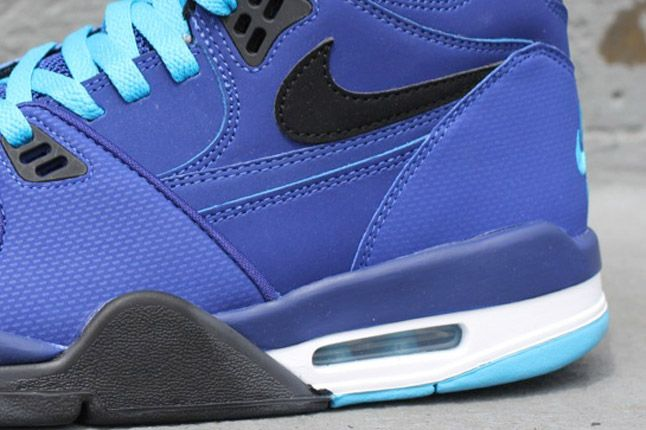 Nike Nsw Flight 89 Grape Dark Royal Heel 1