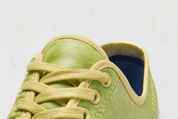 Converse Jack Purcell Signiature Low Top Coated Terry Green 1