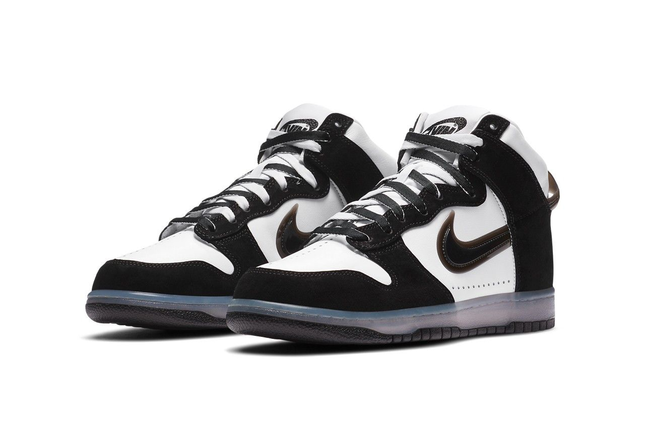 Slam Jam x Nike Dunk High Clear Black