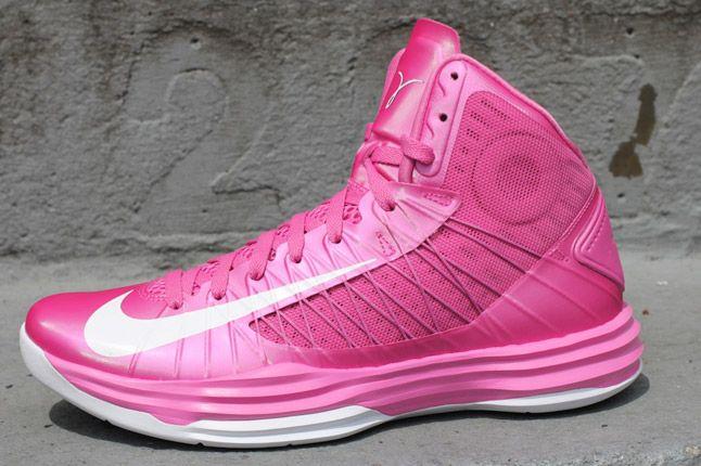 Think Pink 2012 Nike Lunar Hyperdunk Profile 1