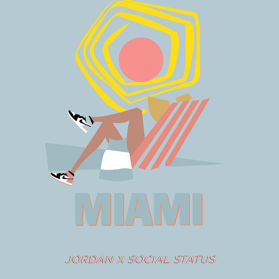 Social Status X Air Jrodan 1 Igloo Rust Pink Sneaker Freaker 7