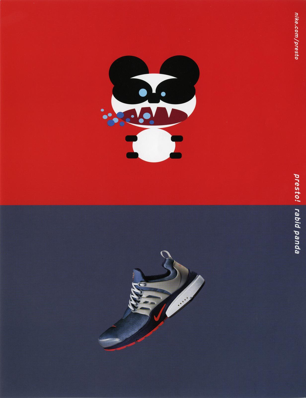 Nike Air Presto 2000 Rabid Panda