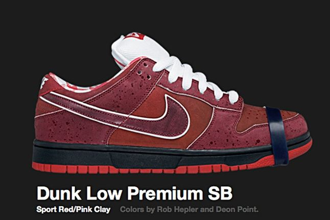 Nike Dunk Low Premium Sb Lobster 2008 2