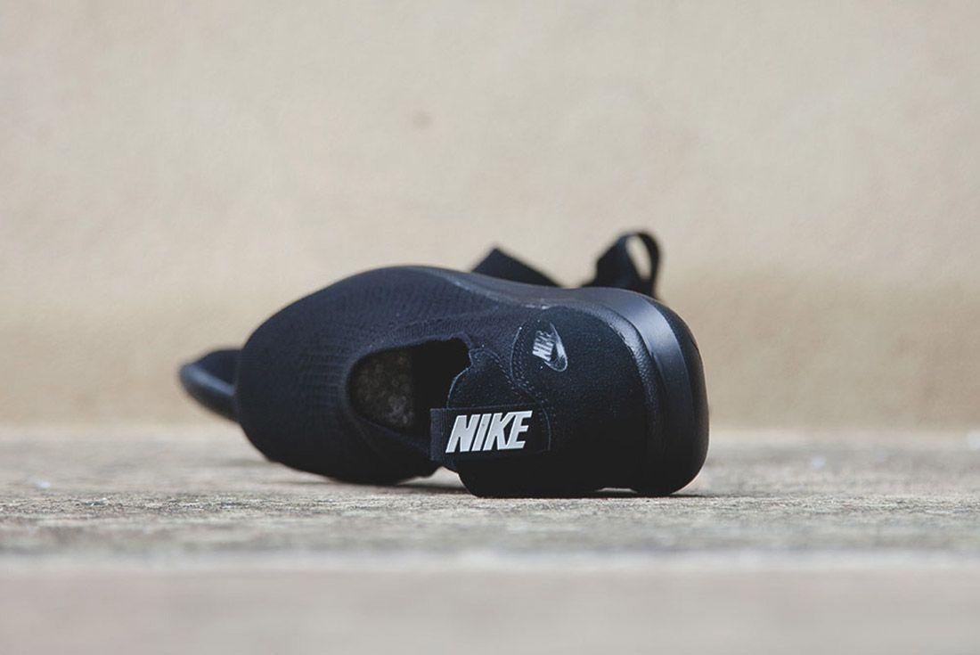 Nike Gakou Flyknit Triple Black White 4
